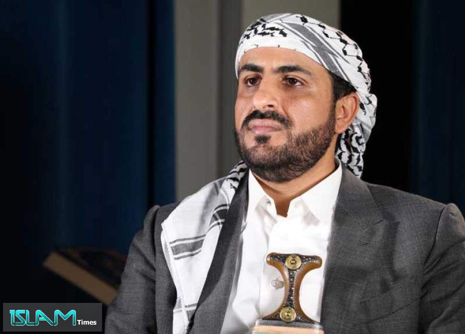 Abdulsalam: Any Calls for Peace in Yemen Depends on Lifting Siege