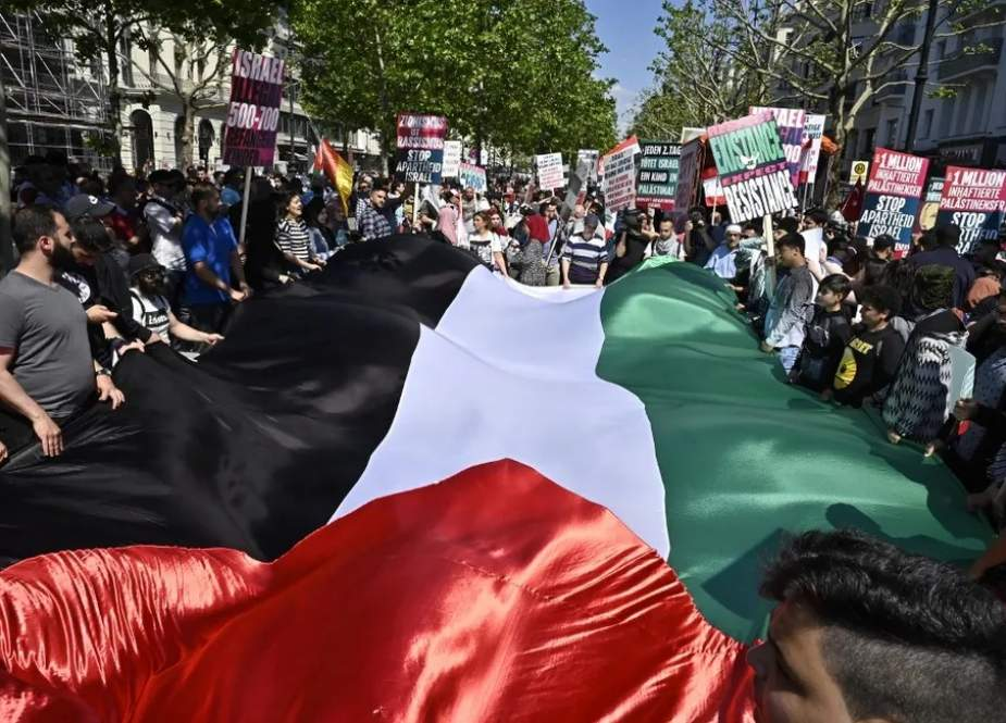 Berlin Quds Day rally