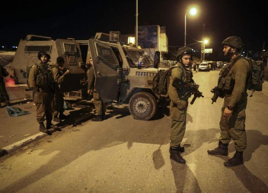 Israeli occupation forces attacked the Sheikh Jarrah neighborhood's residents.jpg