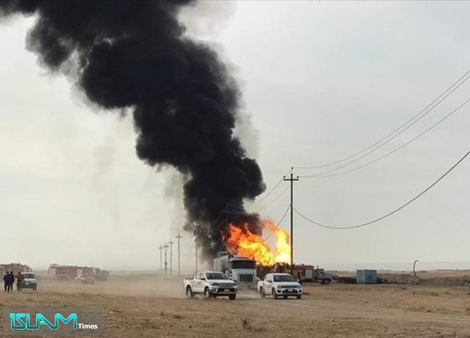 Daesh Terrorists Attack Two Oil Wells in Northern Iraq
