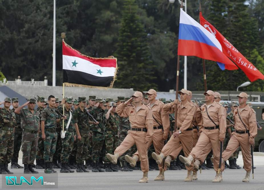 Russia to US: You've No Right to Criticize Our Legitimate Presence in Syria