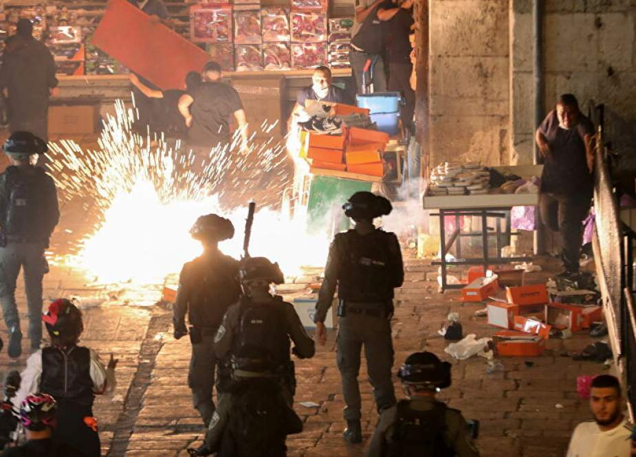 Israel clashes with Palestinians, Arabs in Jerusalem.jpg