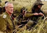 Benny Gantz, resorted to a fortified site in Ashdod when Palestinian missiles hit the city.