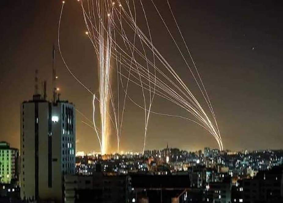 Rockets of the Palestinian resistance.jpg