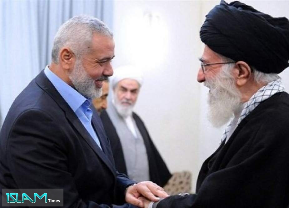 Hamas Chief Writes to Ayatollah Khamenei on Ongoing Developments in Occupied Palestine